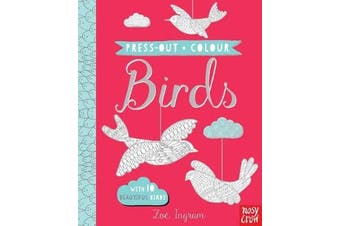 Press Out and Colour - Birds