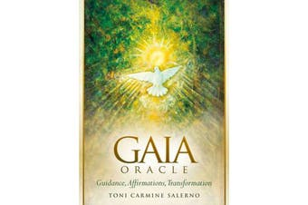 Gaia Oracle - Guidance, Affirmations, Transformation Book and Oracle Card Set