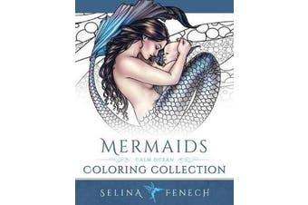 Mermaids - Calm Ocean Coloring Collection