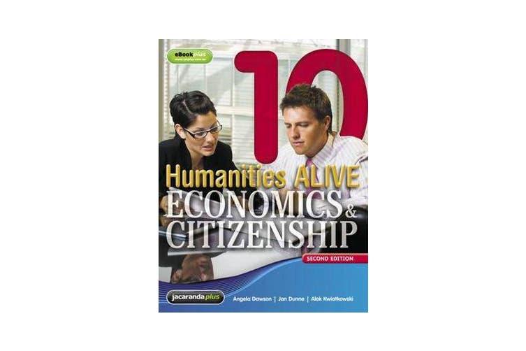 Humanities Alive Economics & Citizenship 10 & eBookPLUS