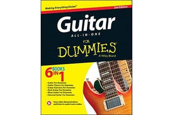 Guitar All-in-One For Dummies - Book + Online Video and Audio Instruction
