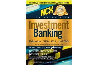 Investment Banking - Valuation, LBOs, M&A, and IPOs (Includes Valuation Models + Online Course)