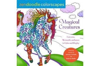 Zendoodle Colorscapes - Magical Creatures