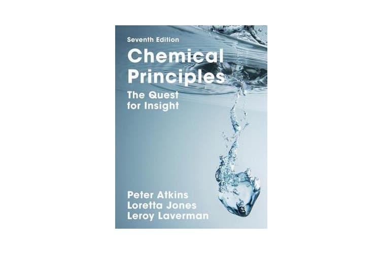 Chemical Principles - The Quest for Insight