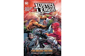 Justice League - The Rebirth Deluxe Edition Book 4