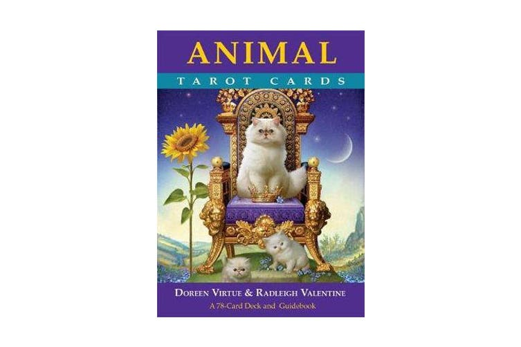 Animal Tarot Cards A 78 Card Deck And Guidebook By Doreen Virtue And Radleigh Valentine 9781401951214 2017 Kogan Com