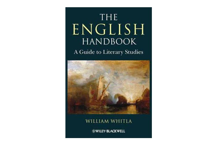 The English Handbook - A Guide to Literary Studies