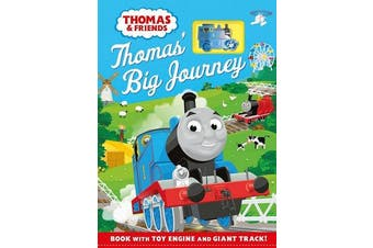 Thomas & Friends: Thomas' Big Journey - Book with toy engine and giant track!
