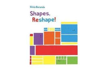 Shapes, Reshape! - a minibombo book