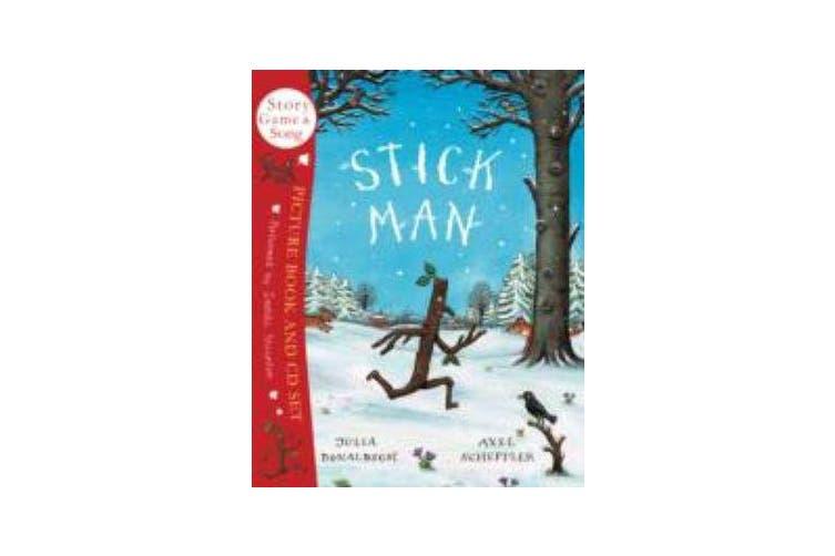 Stick Man Book & CD