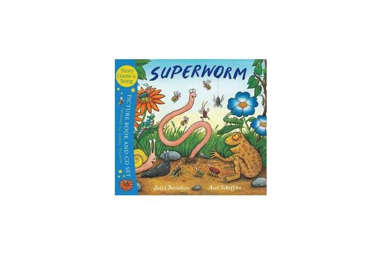Superworm Book & CD