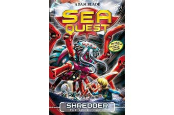 Sea Quest: Shredder the Spider Droid - Book 5