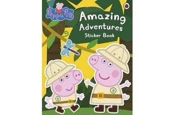 Peppa Pig - Amazing Adventures Sticker Book