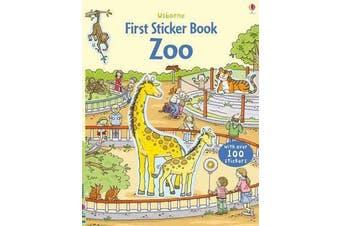 First Sticker Book Zoo