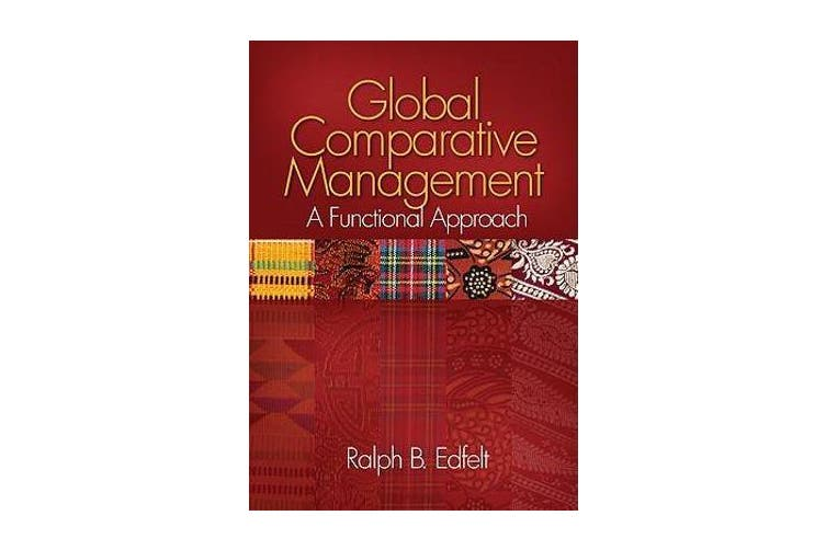 Global Comparative Management - A Functional Approach
