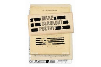 Make Blackout Poetry - Turn These Pages into Poems