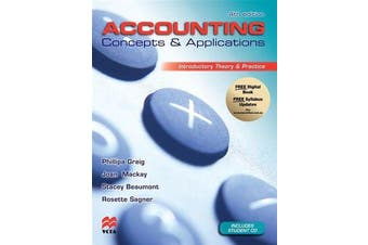 Accounting Concepts and Applications - Introductory Theory and Practice