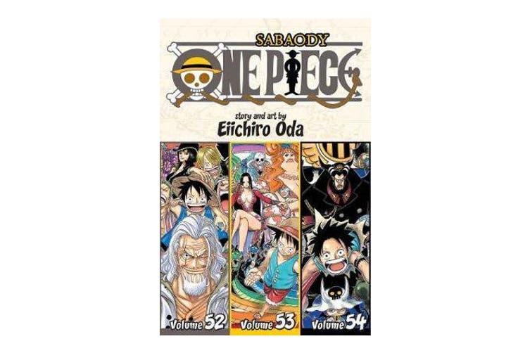 One Piece (Omnibus Edition), Vol. 18 - Includes vols. 52, 53 & 54