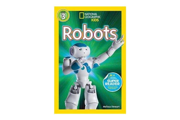 Nat Geo Readers Robots Lvl 3