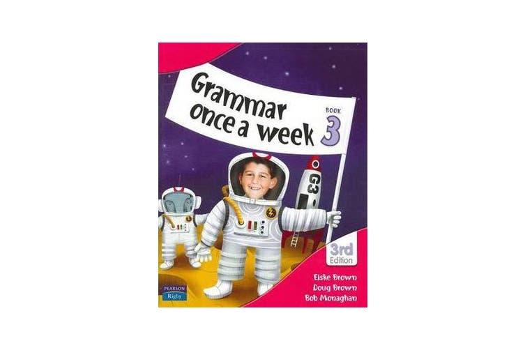 Grammar Once a Week Book 3