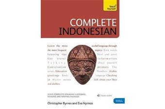 Complete Indonesian Beginner to Intermediate Course - (Book and audio support)