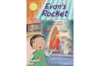 Reading Champion: Evan's Rocket - Independent Reading Yellow 3