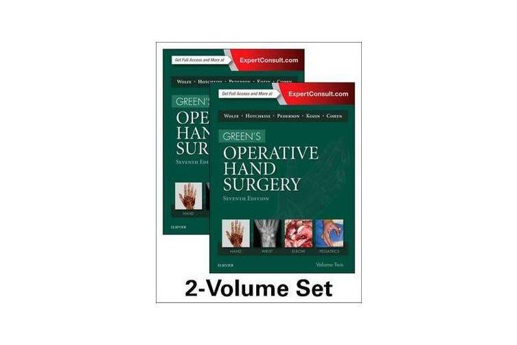 Green's Operative Hand Surgery, 2-Volume Set
