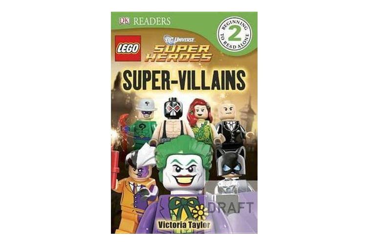 DK Readers L2 - Lego DC Super Heroes: Super-Villains