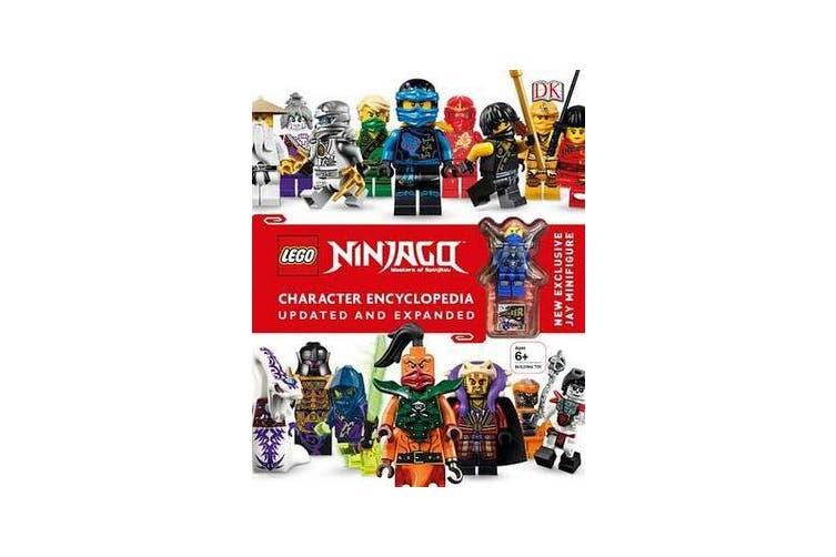 Lego Ninjago Character Encyclopedia, Updated Edition - New Exclusive Jay Minifigure