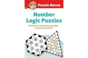 Puzzle Baron Number Logic Puzzle - 400 brain-challenging Puzzles-From Easy to Hard
