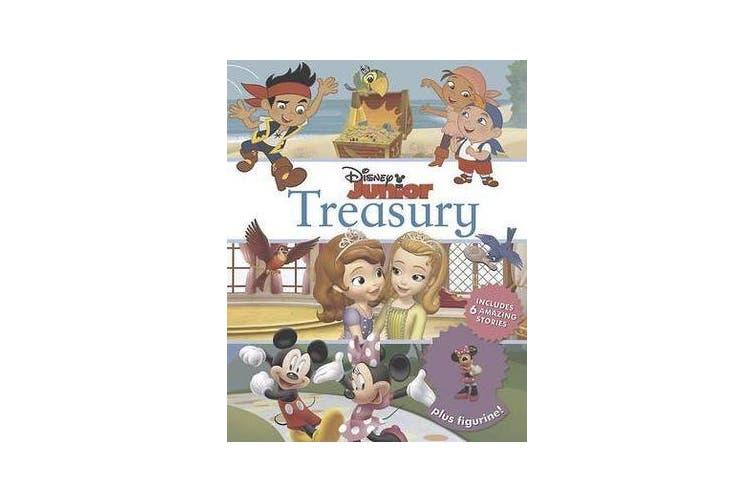 Disney Junior Treasury: Includes 6 Amazing Stories Plus Figurine! - Includes 6 amazing stories plus figurine!