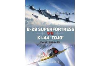 """B-29 Superfortress vs Ki-44 """"Tojo"""" - Pacific Theater 1944-45"""