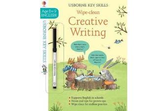 Wipe-Clean Creative Writing 8-9