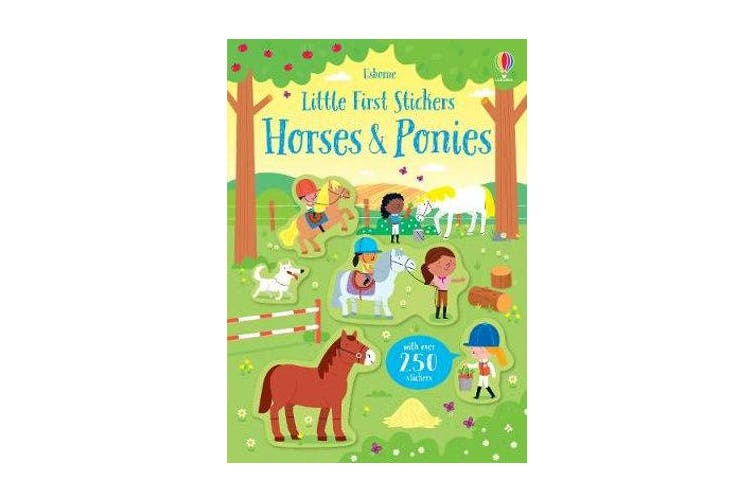 Little First Stickers Horses and Ponies