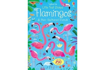 Little First Stickers Flamingos