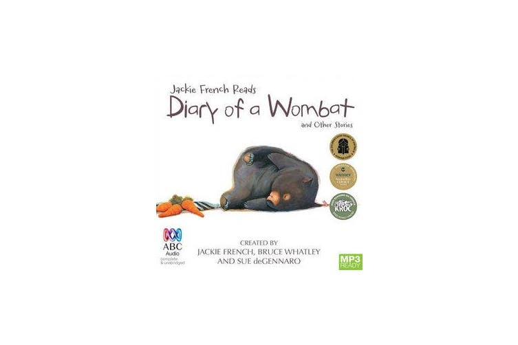 Jackie French Reads - Diary Of A Wombat And Other Stories