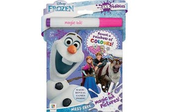 Inkredibles Disney Frozen Magic Ink Pictures (2019 Ed)