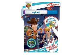 Inkredibles Toy Story 4 Magic Ink Pictures