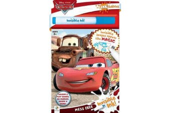 Inkredibles Disney Cars Invisible Ink (2019 Ed)