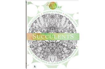 Zen Colour - Succulents (2019 Ed)