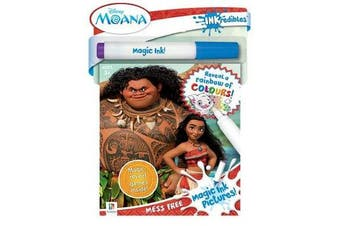 Inkredibles Moana Magic Ink Pictures