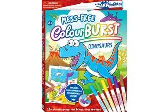 Inkredibles Colour Burst Colouring - Dinosaurs