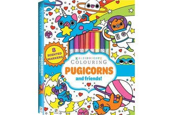 Kaleidoscope Colouring - Pugicorns and Friends