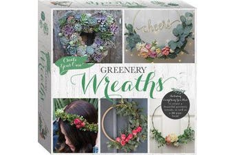 Create Your Own Greenery Wreath Kit (tuck box)