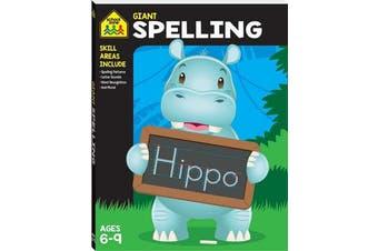 Giant Workbook - Spelling