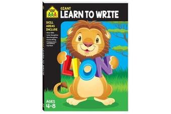 Giant Workbook - Learn to Write
