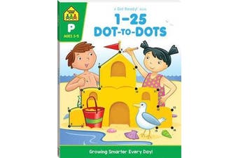 1-25 Dot-to-dot - A Get Ready Book (2019 Ed)