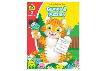 Games and Puzzles - An Activity Zone Book (2019 Ed)
