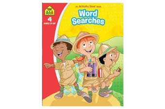 Word Searches - An Activity Zone Book (2019 Ed)