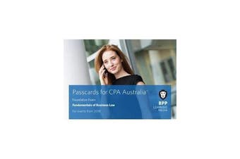 CPA Australia Fundamentals of Business Law - Passcards